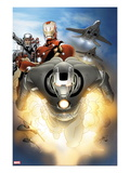 Iron Man 20 71 Cover: Iron Man and War Machine