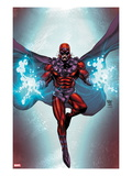 Magneto 1 Cover: Magneto Flying