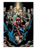 Marvel Adventures Spider-Man 12 Cover: Spider-Man Crouching