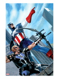 Captain America and Hawkeye 629 Cover: Captain America and Hawkeye