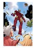 Ultimate Spider-Man 151: Iron Man Flying