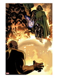 New Avengers No8: Dr Doom is Standing Above