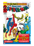 Amazing Spider-Man Annual 1 Cover: Spider-Man  Sandman  Mysterio  Dr Otto Octavius  and Electro