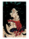 X-Men 8 Cover: Spider-Man and Emma Frost