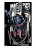 Captain America and Bucky No620: Bucky Standing in front of a Mirror