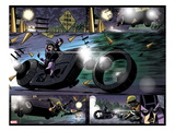 Avengers: Solo No4: Hawkeye Riding a Motorcycle