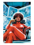 Heroes for Hire 4 Cover: Misty Knight Sitting