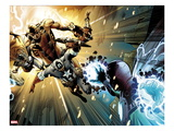 Captain America: Man out of Time No5: Captain America  Thor  Giant Man  and Iron Man Charging