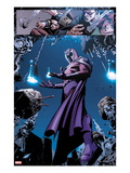 X-Men No13: Panels with Storm and Magneto
