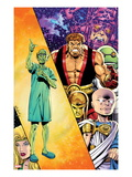 Hercules: Twilight of a God 3 Cover: Hercules and Others