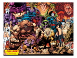 X-Men No1: 20th Anniversary Edition: A Villains Gallery