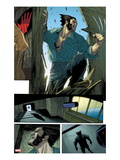 Wolverine No10: Panels with Logan Smashing In