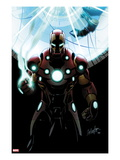 Invincible Iron Man 501 Cover: Iron Man Standing
