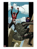 Ultimate Comics Spider-Man No9 Cover: Spider-Man and Prowler