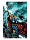 Thor: First Thunder No1 Cover: Thor Standing