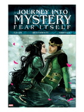 Journey Into Mystery No625 Cover: Loki and Leah