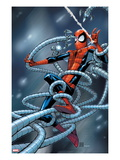 Marvel Adventures Spider-Man 6 Cover: Spider-Man Trapped