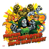 Marvel Super Hero Squad: Prepare to be Defeated! Abomination  Loki  Dr Doom  and Doctor Octopus