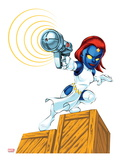 Marvel Super Hero Squad: Mystique Shooting