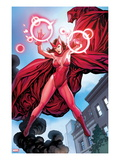 Avengers Vs X-Men 0: Scarlet Witch Flying with Energy