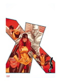 Uncanny X-Men 544 Cover: Marvel Girl  Iceman  Cyclops  Beast  and Angel