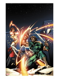 Herc 5 Cover: Hercules Fighting with a Shield and Sword