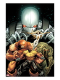Thunderbolts 151 Cover: Luke Cage  Juggernaut  Moonstone  Man-Thing  and Ghost Posing
