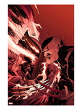 Daken: Dark Wolverine 2 Cover: Daken and Wolverine Fighting