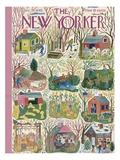 The New Yorker Cover - December 29  1945