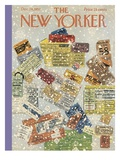 The New Yorker Cover - December 28  1957