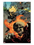 Ultimate Avengers 2 No6: Ghost Rider Flaming