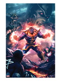The Thanos Imperative 3 Cover: Thanos Screaming
