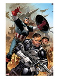 Secret Warriors 18: Nick Fury  Captain America  Dum Dum Dugan
