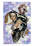 Uncanny X-Men 528 Cover: Hope Summers and Storm Flying