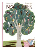 The New Yorker Cover - May 25  1946