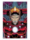 Avengers No4 Cover: Iron Man