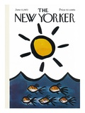 The New Yorker Cover - June 10  1972