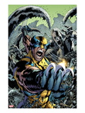 Wolverine: The Best There is 10 Cover: Wolverine Screaming and Fighting