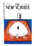 The New Yorker Cover - January 23  1971