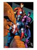 FF 10: Thing  Captain America  Hawkeye  and Iron Man