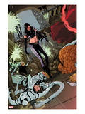 X-23 No15 Cover: X-23  Mr Fantastic  Spider-Man  Thing  Invisible Woman and Others