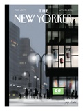 The New Yorker Cover - January 24, 2011 Giclee par Jorge Colombo