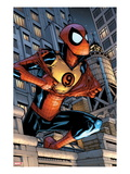 Marvel Adventures Spider-Man 9 Cover: Spider-Man Jumping