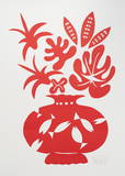 Vase II Rouge