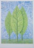 La belle saison Reproduction d'art par Rene Magritte