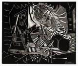 Luncheon on the grass (white) Reproduction pour collectionneurs par Pablo Picasso