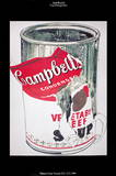 Big Torn Campbell&#39;s Soup Can (Vegetable Beef)