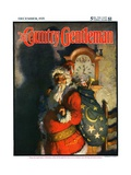 """'Twas the Night before Christmas "" Country Gentleman Cover  December 1  1925"