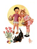 """""""Easter Egg Hunt """"April 15  1933"""