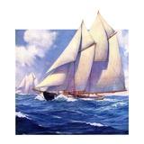 """""""Yachts at Sea """"May 20  1933"""